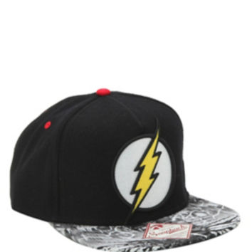 DC Comics The Flash Logo Snapback Hat