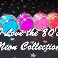 I Love the 80's NEON Collection 7 SUPER by BeautyFiendCosmetics