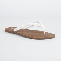 Volcom Have Fun Womens Sandals White  In Sizes