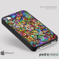 Disney Stained Glass Window for iPhone 4/4S, iPhone 5/5S, iPhone 5c, iPhone 6, iPhone 6 Plus, iPod 4, iPod 5, Samsung Galaxy S3, Galaxy S4, Galaxy S5, Galaxy S6, Samsung Galaxy Note 3, Galaxy Note 4, Phone Case