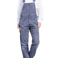 Citizens of Humanity Quincey Overall in Mineral Stripe | ShopAmbience