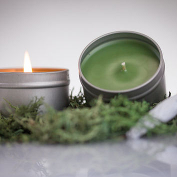 Marijuana-Weed scented natural soy candle.  The cannibus, green-colored scented soy candle perfect for parties has actual marijuana scent.
