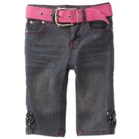 Pink Angel Girls 2-6X Bow Belted Skimmer Pant $19.20
