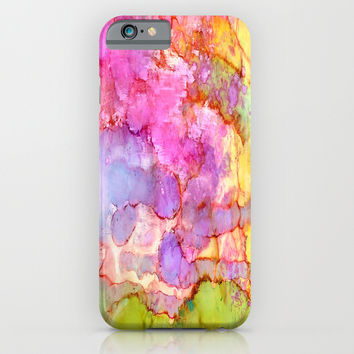Marmalade Sky iPhone & iPod Case by Rosie Brown