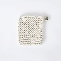 Knitted Flax Pot Holder, Iris Hantverk collection | Folklore