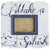 Make a Splash Frame - 5x7