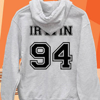 Ashton Irwin 94 date of birth Pullover hoodies Sweatshirts for Men's and woman Unisex adult more size s-xxl at mingguberkah