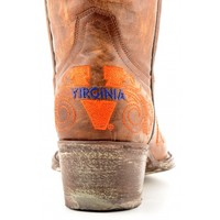 "Gameday Boots Womens 13"" Tall Leather University Of Virginia Cowboy Boots"