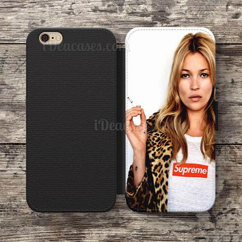 Wallet Case For iPhone 6S Plus 5S SE 5C 4S case, Samsung Galaxy S3 S4 S5 S6 Edge S7 Ed