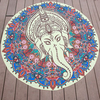 New Geometric Round Tapestry Wall Hanging Beach Throw Towel Yoga Mat Bohemia Decor