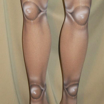 Mocha 2 sided ball joint doll lolita tights