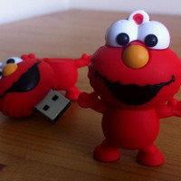 8GB Mini Elmo USB Flash Drive from SESAME STREET tv series