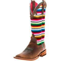 Women's Macie Bean Lefty's Poncho Toast Bison Cowgirl Boots