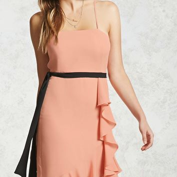 Contemporary Ruffled Cami Dress
