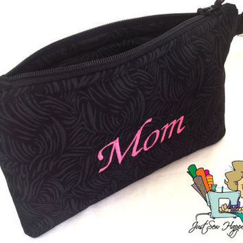 Personalized Makeup Bag / Bridesmaid Bag / Gadget Bag