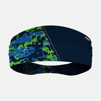 Arsenal Digi Camo Navy Blue Green Headband
