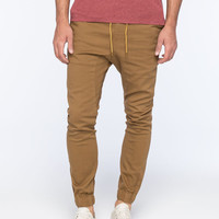 Lira Weekend Mens Jogger Pants Khaki  In Sizes