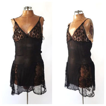 1920s Step In Lingerie 20s Black Lace Bodysuit 20s Chemise Boudoir Romper 1920s Teddy Art Deco Flapper Undergarment Sheer Bloomers Burlesque