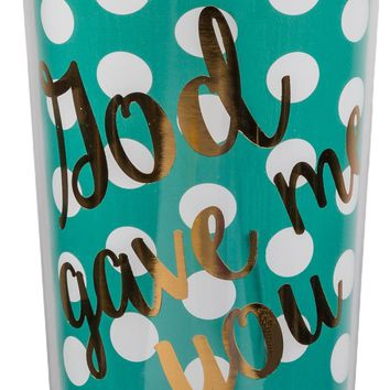 God Gave Me You Travel Mug