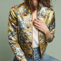 Jeweled Brocade Jacket