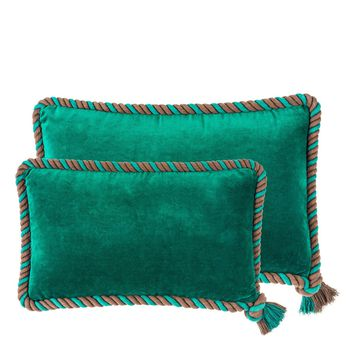 Green Velvet Pillow (Set of 2) | Eichholtz Christallo