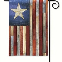 Barn Star Garden Flag