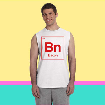 Periodic Bacon Sleeveless T-shirt