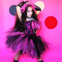 Madonna inspired tutu Halter set........Great for Birthdays,Photo props and dress up