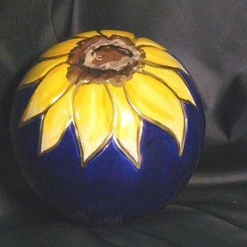Ceramic Sunflower Marble