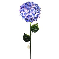 Home & Garden PURPLE HYDRANGEA STAKE Metal Garden Accent Flower 11228