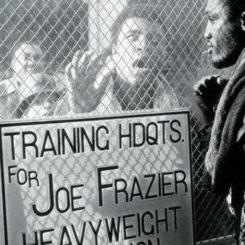 Muhammad Ali: Joe Frazier Window Taunt