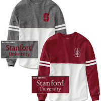 Stanford University Women's Color Block RaRa Long Sleeve T-Shirt | Stanford University