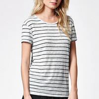 Volcom Lived In Ribbed Stripe T-Shirt at PacSun.com