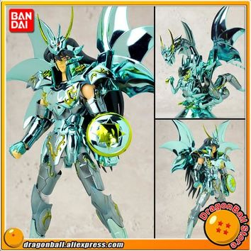 "Japan Anime ""Saint Seiya"" Original BANDAI Tamashii Nations Saint Cloth Myth Action Figure - Dragon Shiryu God Cloth"