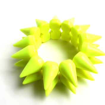 """A Ray Of Sunshine"" Neon Yellow Bracelet"