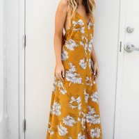 What You Feel Printed Maxi Dress