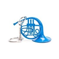 Blue French Horn Keychain from How I Met Your Mother