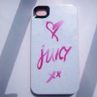 Juicy Couture iPhone 4g Case Love xx