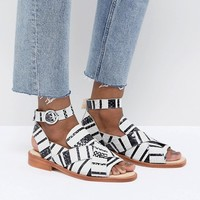 Free People Catalina Mono Sandals at asos.com