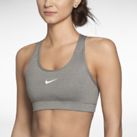 Nike Pro Women's Sports Bra - Carbon Heather