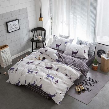 Stylish Bedding Sets with Duvet Cover Bed Sheet Pillowcase