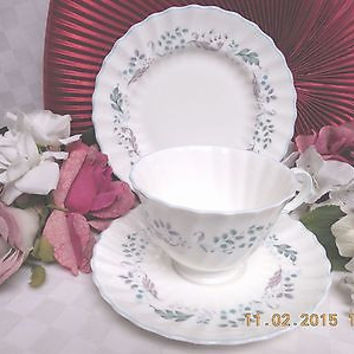 Royal Doulton China England Glen Auldyn Pattern #: H4959 Treo Cup saucer plate