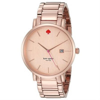 Kate Spade Women's Gramercy Grand 1YRU0641 Rose Gold Stainless-Steel...