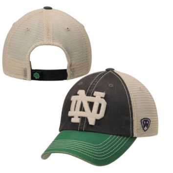 Notre Dame Fighting Irish Top of the World Offroad Trucker Adjustable Hat