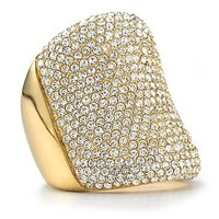 Michael Kors Pave Concave Ring | Bloomingdale's
