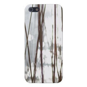Sparkling Reed Grass iPhone 5/5S Cover