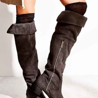 Report Justeen Suede Tall Boot-