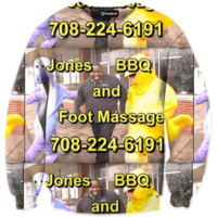 Jones BBQ and Foot Massage Crewneck