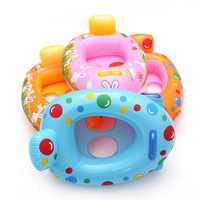 Baby Toddles Swimming Float Cheap Inflatable Pool Toy (Random Color)