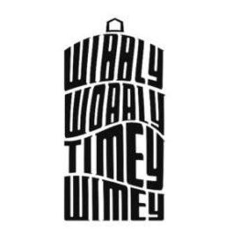 Dr. Who's Wibbly Wobbly Timey Wimey Tardis  Vinyl Car/Laptop/Window/Wall Decal